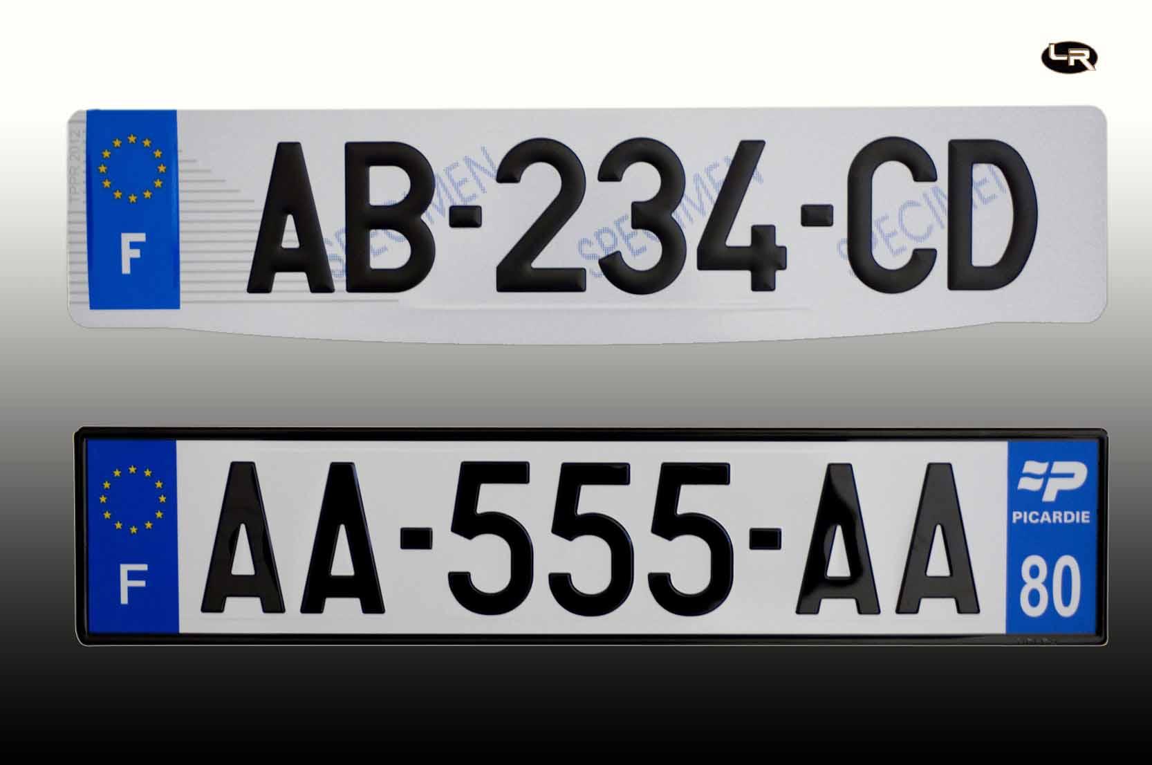 Des plaques d immatriculation automobile garage si ge auto - Garage plaque immatriculation ...