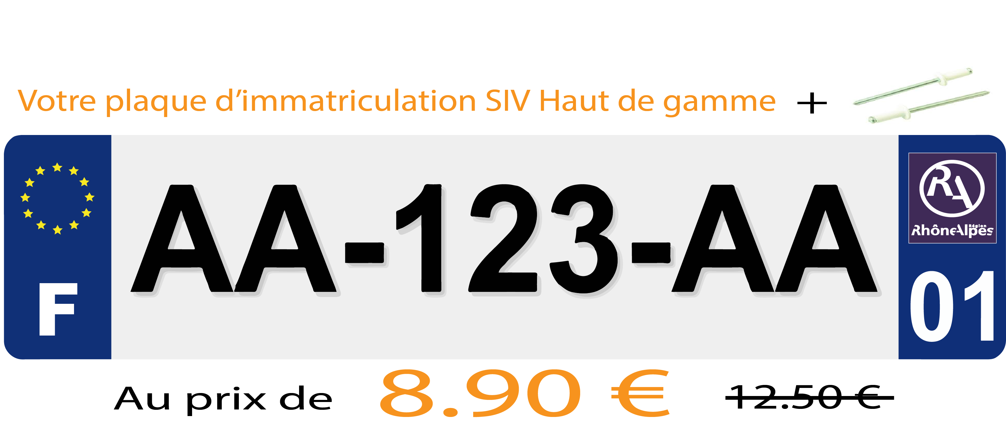 plaque immatriculation prix automobile garage si ge auto