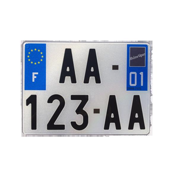 Plaque immatriculation pvc automobile garage si ge auto - Garage plaque immatriculation ...