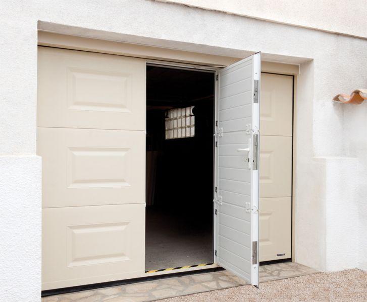 Porte De Garage Archives Page Sur Automobile Garage - Porte de garage sectionnelle avec porte fenetre pvc 215x120