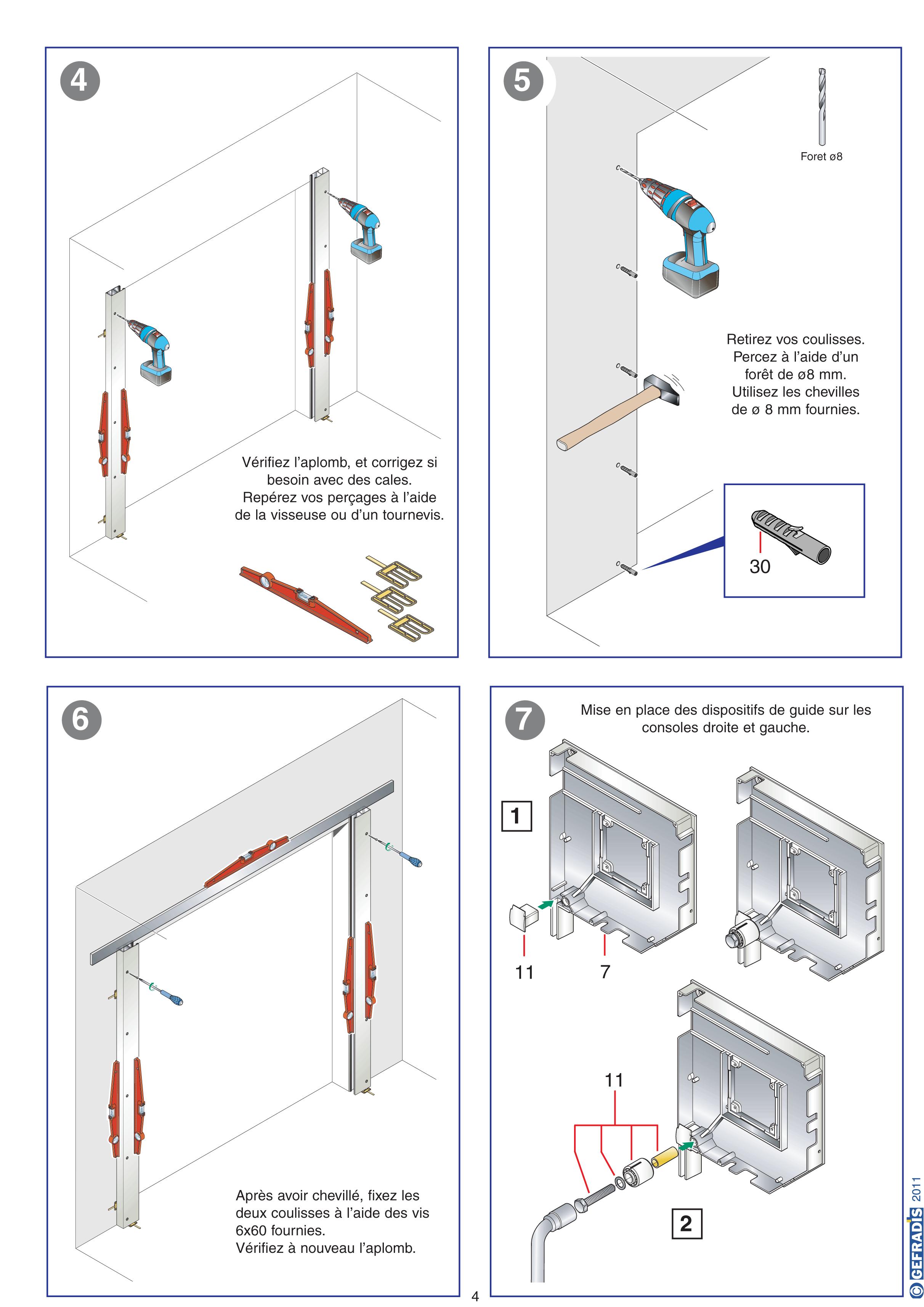 Comment monter une porte de garage enroulable automobile - Monter une porte de garage sectionnelle ...