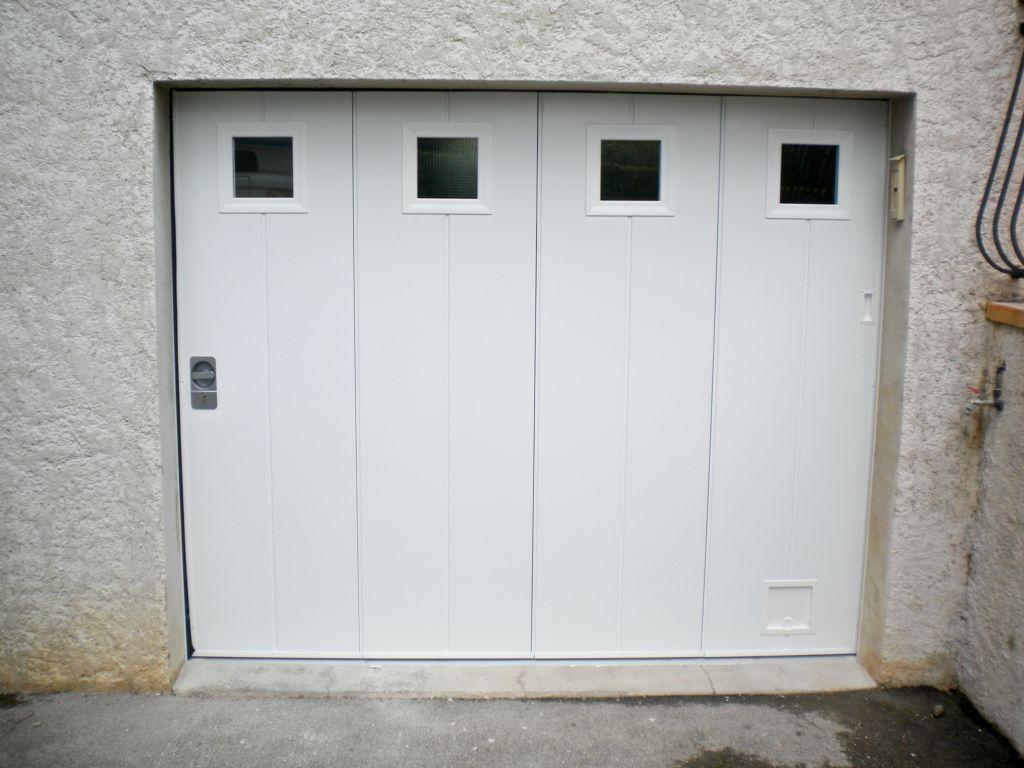porte de garage manuelle