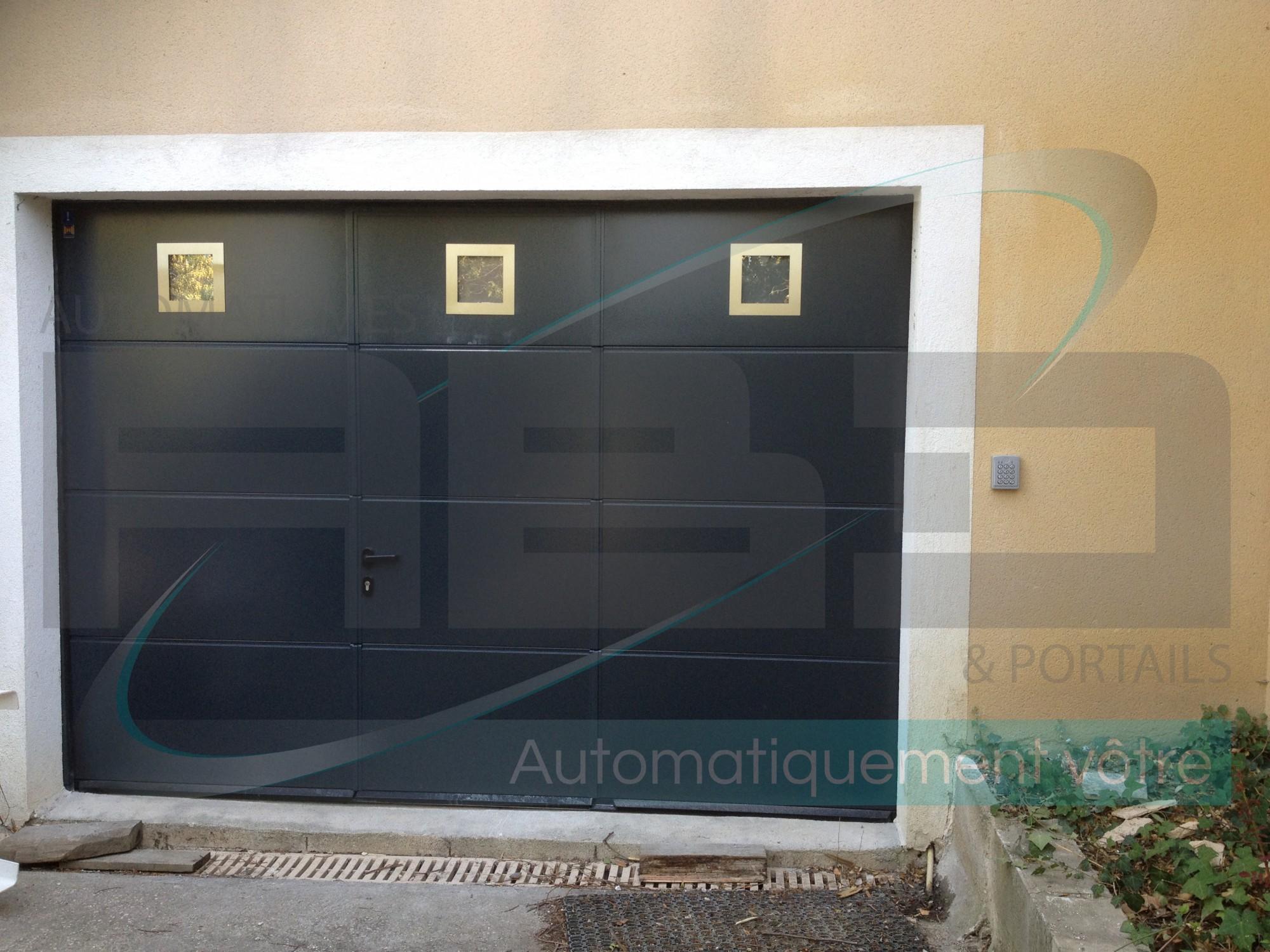 Porte De Garage Sectionnelle Hormann Sur Mesure Automobile Garage - Porte garage sectionnelle hormann