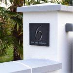 Numero adresse plaque