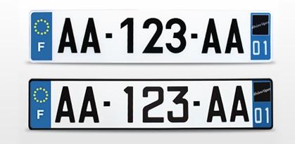 Plaque immatriculation voiture prix automobile garage si ge auto - Garage plaque immatriculation ...