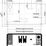 plaque immatriculation reglementation automobile garage si ge auto. Black Bedroom Furniture Sets. Home Design Ideas