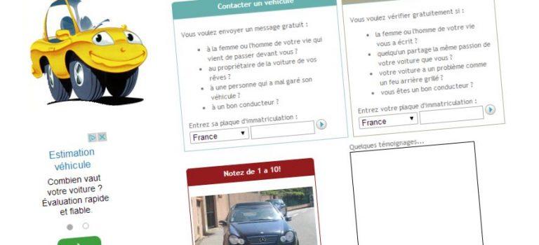 Trouver véhicule avec plaque d immatriculation