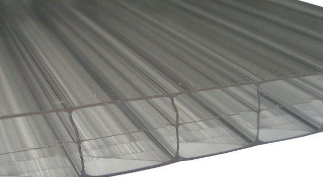 Plaque polycarbonate teinté