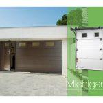Lapeyre porte de garage avec portillon