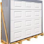 Installation porte de garage sectionnelle brico depot