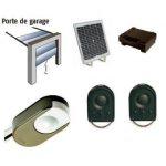 Porte de garage solaire prix