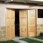 Porte de garage 4 vantaux bois lapeyre