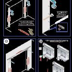 Comment monter une porte de garage enroulable