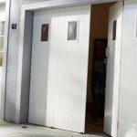 Porte de garage pliante pvc prix